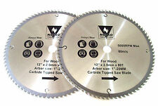 "2 12"" NEIKO CIRCULAR COMPOUND MITER SAW BLADES 80 TOOTH"