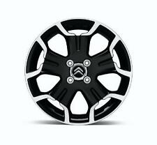 "Origine citroen ds3 Bellone 17 ""roue en alliage 5402av en noir 4 stud BNIB"