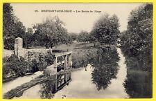 cpa 91 - BRÉTIGNY sur ORGE (Essonne) Les Bords de l'Orge VANNE Ecluse