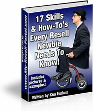 Resell Rights Beginner To Winner - 17 Skills - How To Sell Resale Products (CD)