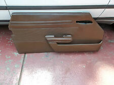 71-89 107 MERCEDES 450 380 560 SL SLC RIGHT TOBACCO BROWN DOOR PANEL MAP POCKET