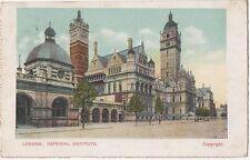 POSTCARD  LONDON  Imperial  Institute