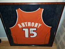 f350f54f7 Carmelo Anthony Syracuse autographed jersey Framed