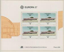 Europa CEPT 1987 Moderne Architectuur Azoren Blok 8 - cat waarde € 11