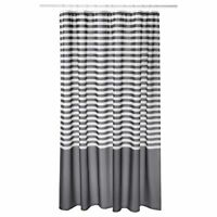 IKEA New Shower curtain VADSJÖN Dark grey 180x180 cm VADSJON