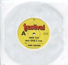 "JAMIE REDFERN - WHEN YOU WISH UPON A STAR - 7"" 45 RECORD -"