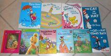 10 Vintage Children's Books: Dr. Seuss, Disney; Leap Frog; Our Generation
