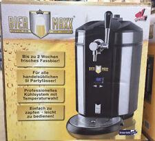 BIERMAXX Bierzapfanlage mit Co2 Kapseln - Schwarz - 5L