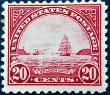 Scott #567 - 20¢ Golden Gate, M, OG, NH, VF.  SCV*=$35