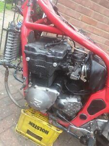 Suzuki gsxr 750L 1990 Engine catbs cdi airbox oil cooled