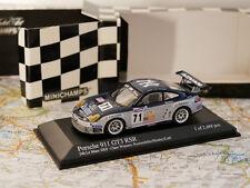 MINICHAMPS PORSCHE 911 GT3 RSR 24H LE MANS 2005 ROCKENFELLER/HINDERY NEW 1:43