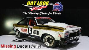 1:18 Allan Grice 1978 Bathurst Torana A9X Classic Carlectables Vinyl Decals only