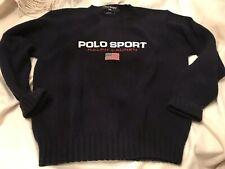 Polo Sport Mens Cotton Flag Sweater