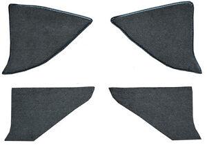 1975-1986 Chevrolet K5 Blazer Cutpile Carpet Kick Panel Inserts with Cardboard
