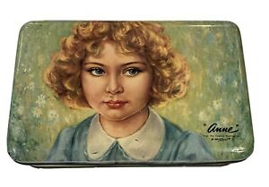 "Rare MacRobertson's Toffee Tin ""Anne"""