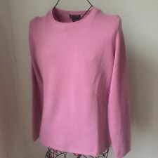 Lord And Taylor Long Sleeve 100% Cashmere Crewneck Sweater  Sz. L