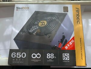 650W Antec NE650M NeoECO PSU / 80 PLUS Bronze Modular ATX Power Supply