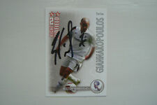 2006-7 SHOOT OUT TRADING CARD - S. GIANNAKOPOULOS (BOLTON) SIGNED BY HIMSELF