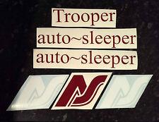 VW T25 Autosleeper Camper Stickers Decals Trooper