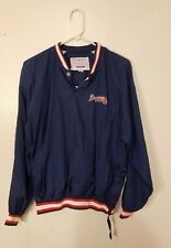 Boys XL ATLANTA BRAVES Starter Pullover Jacket 90s 00s