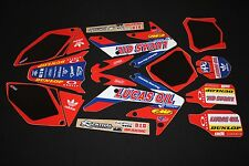 HONDA CRF250R 2006-2009 LUCAS OIL FLU MX GRAPHICS KIT STICKER KIT STICKERS