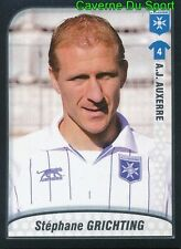 010 GRICHTING SWITZERLAND AJ AUXERRE FC.SION STICKER FOOT 2010 PANINI