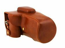 PU Leather Camera Case Bag For Canon EOS 7D Camera w/18-200mm Or 18-135mm Lens