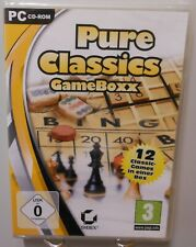 Pure Classics Game Box PC Spiel Software CD-ROM 12x Spielspaß Hits Familie T98