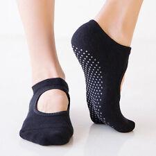 Calcetines de Yoga de Interior para Mujeres Calcetines Antideslizante con agarres barre Calcetines Calcetines de pilates