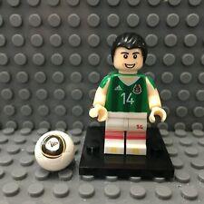 Chicharito Javier Hernandez Custom Minifigure FIFA Soccer Lego Compatible