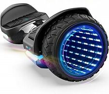 """Black Carbon G1 Knight PRO 6.5"""" Off-Road Hoverboard LED Rims"""