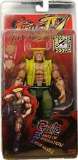 """Neca Street Fighter 4 GUILE 7"""" Action Figure Charlie Costume 2009 SDCC Exclusive"""
