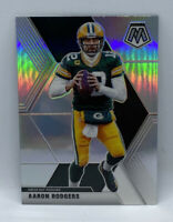 Aaron Rodgers 2020 Panini Mosaic Silver Prizm Refractor #79! Green Bay Packers!