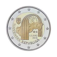 """Slovakia 2 Euro commemorative coin 2018 """"Republic"""" UNC ***NEW***"""
