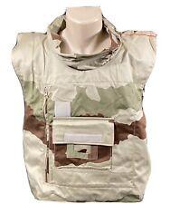Military Flak Vest Desert 3-Color Camo Size Large NOS