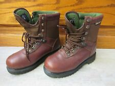 Wolverine Boots 3936 EUC 6.5 Lace-Up Gore Tex Brown Women Leather Waterproof