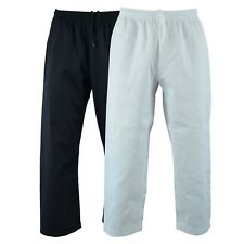 Karate Pants Taekwondo Lightweight TKD Aikido Child Adult Gi Elastic Drawstring