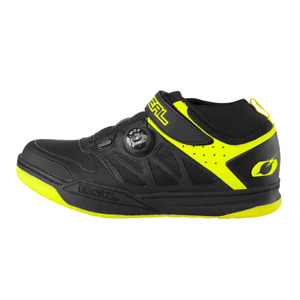 O'Neal Session SPD Bicycle Cycle Bike Shoes Black / Neon Yellow