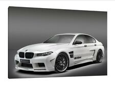 BMW M5 30x20 pulgadas impresión enmarcado cuadro lienzo-Automovilismo