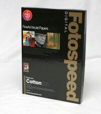 Fotospeed Platinum Cotton 305gsm A4 25 Sheets