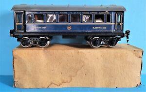 Märklin Spur 0 # 1757 0 Internationaler Schlaffwagen / Sleeping car