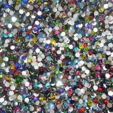 5000PCS Crystal Flat Back Resin Rhinestones Gems 33 colors 2mm,3mm, 4mm,5mm,6mm