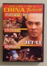 jet li  ONCE UPON A TIME IN CHINA TRILOGY DVD includes insert
