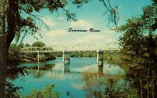 USA - Florida  -  One of Florida's many beautiful bridges over Suwannee River