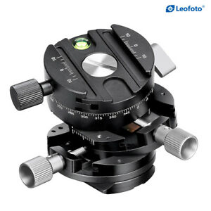 Leofoto G2 GEAR HEAD 3 In 1 Panoramic Geared Ball head Tripod Head/ARCA