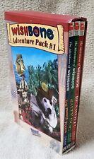 WISHBONE Adventure Pack 3 Book Box Set The Adventures of Wishbone 1 2 3 VGC