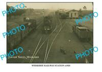 6x4 PHOTO OF OLD WERRIBEE RAILWAY STATION c1920 VIC