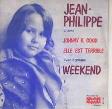 45TRS VINYL 7''/ SWISS SP JEAN-PHILIPPE / JOHNNY B. GOOD + REPRISE HALLYDAY