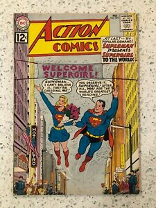 Action Comics #285 3.5 VG- Supergirl Presented to the World 1962