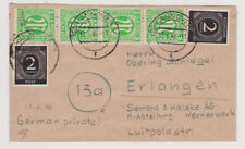 All.Bes./Gemeinsch.Ausg. Mi. 912 MiF AM-Post 3, Hannover 13.6.46